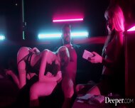 Deeper. Kayden And Kenna Fuck VIP In Strip Club Booth